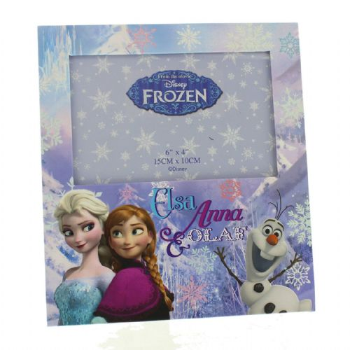 Disney Frozen Photo Frame - Anna Elsa & Olaf Picture Frame
